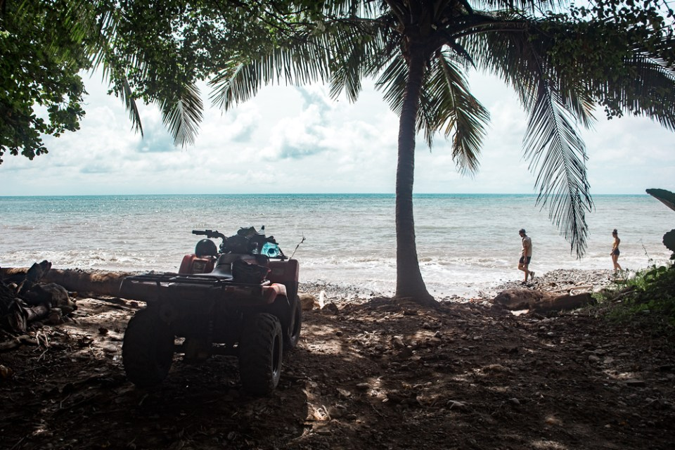 atv on beach: 11 things to know about costa rica transport