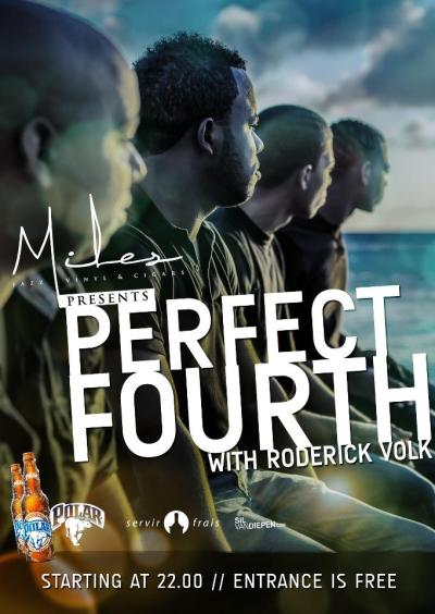 Perfect Fourth at Miles Jazz Cafe Curacao