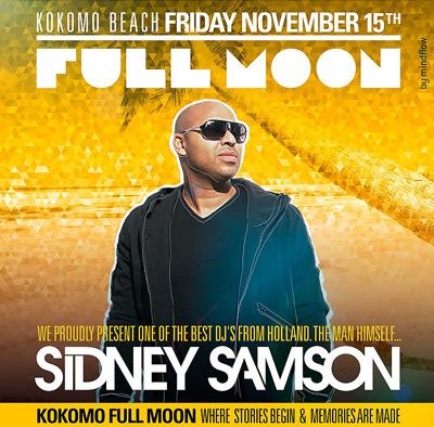 Full Moon Sidney Samson