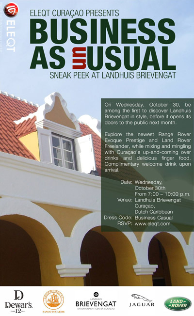 Business as Usual by ELEQT Curacao