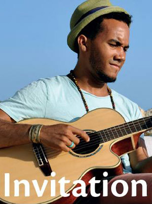 Levi Silvanie at Blue Bay Curacao