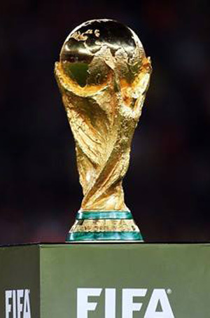 World Cup Trophy Tour in Curacao