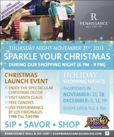 Renaissance Christmas Shopping in Curacao