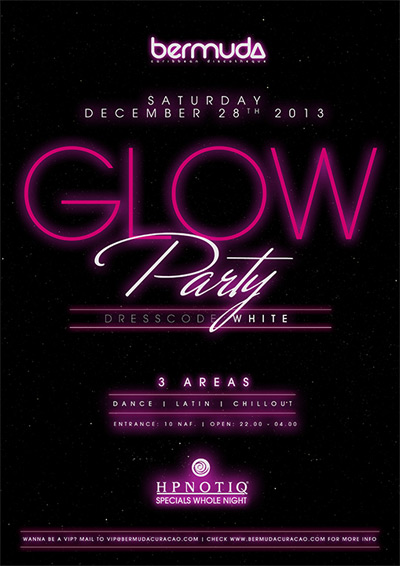 Glow Party at Bermuda Curacao
