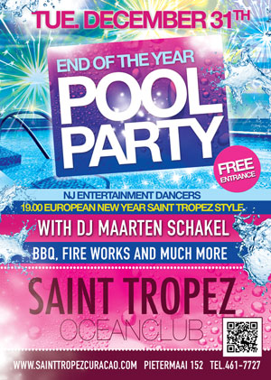 European End of Year Party at St Tropez Curacao