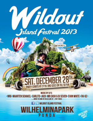 Wildout Island Festival Curacao