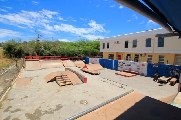 Flipside skate park Curacao