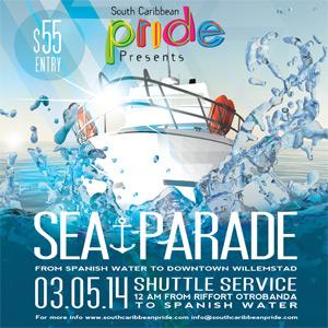 Sea Pride Parade in Curacao