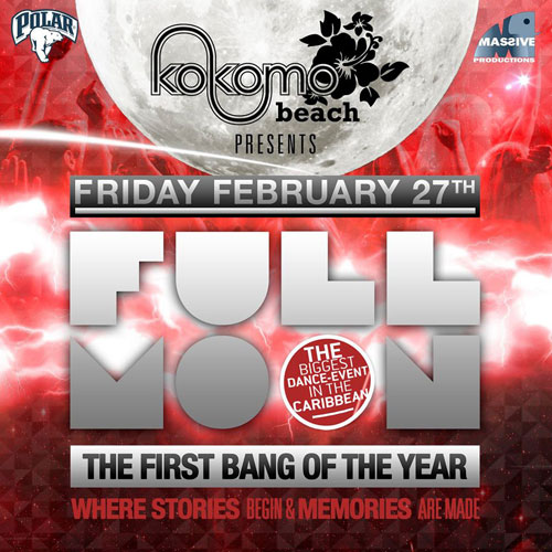 Full Moon Party with Miss Bontbeats - Curaçao Party Guide