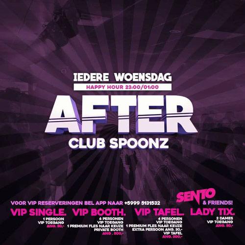 Nachtwerk After at Club Spoonz Curacao