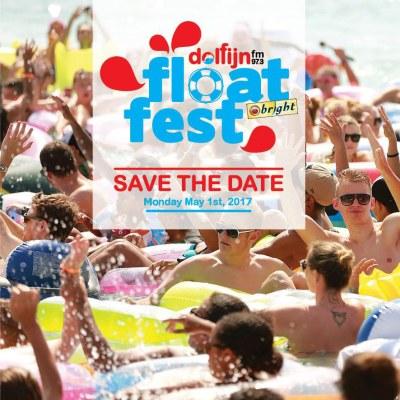 Dolfijn FM Float Fest 2017 at Mambo Beach Curacao