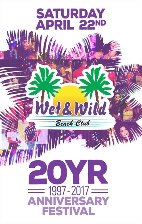 20 year Anniversary at Wet & Wild Curacao