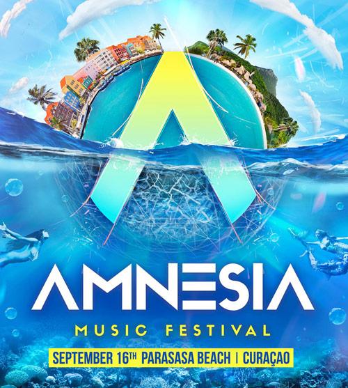 Amnesia Music Festival 2017 at Parasasa Beach Curacao