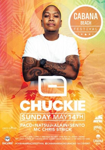 Cabana Beach Festival Curacao with DJ Chuckie