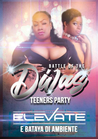 Battle of the Divas at Club Elevate Curacao