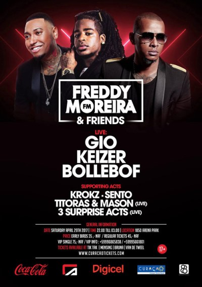 Freddy Moreira & Friends at Club 1850 Curacao