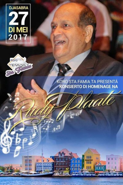 Homage to Rudy Plaate at WTC Curacao