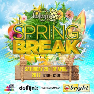 Spring Break 2017 at Kokomo Beach Curacao