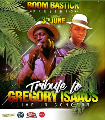 Tribute to Gregory Isaacs at Landhuis Chobolobo Curacao
