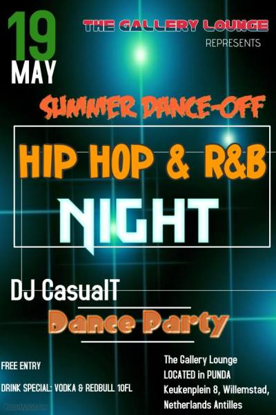 Summer Dance Off at The Gallery Lounge Curacao
