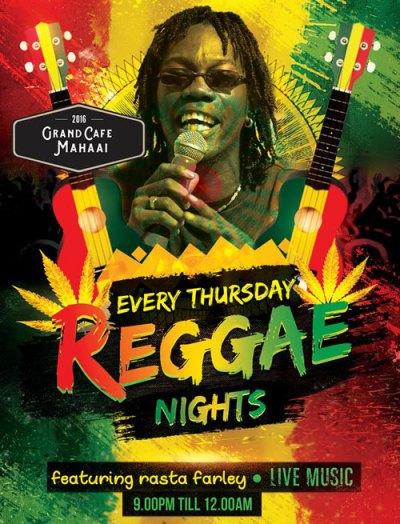 Reggae Nights at Grand Cafe Mahaai Curacao
