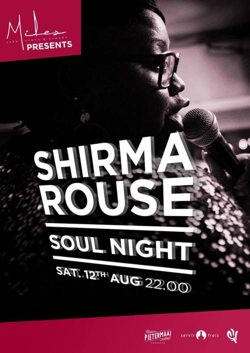 Shirma Rouse Soul Night at Miles Jazz Cafe Curacao