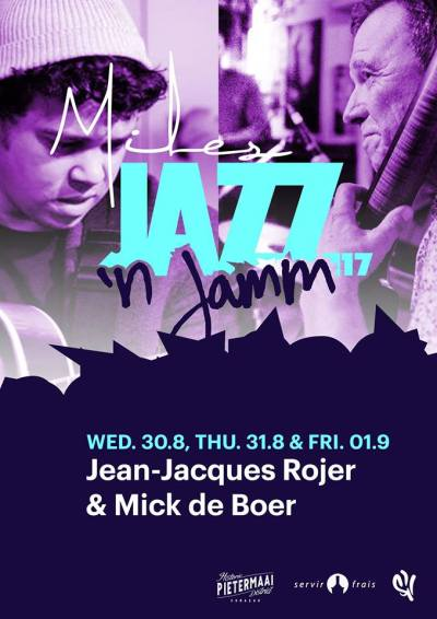 Jazz n Jamm with Rojer and De Boer at Miles Jazz Cafe Curacao