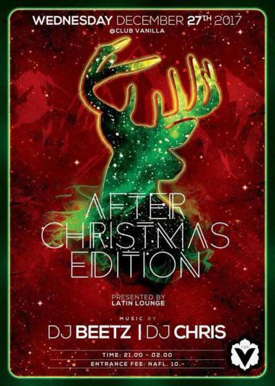 Latin Lounge After Christmas at Club Vanilla Curacao