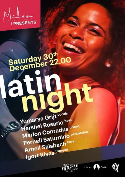 Latin Night at Miles Jazz Cafe Curacao