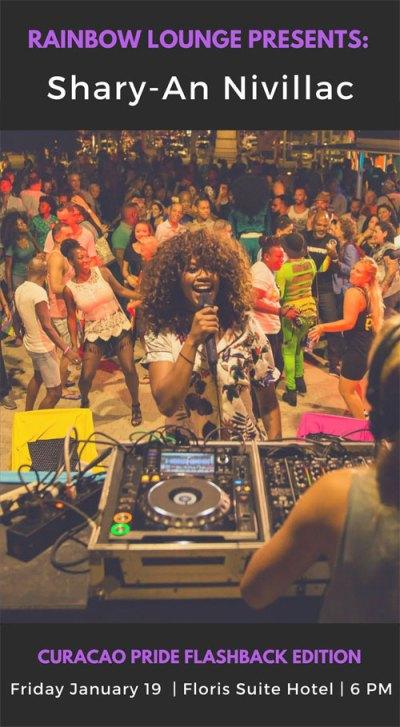 Rainbow Lounge Pride Flashback at Floris Suite Hotel Curacao
