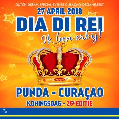 Kings Day 2018 in Punda Curacao