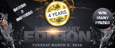 Latin Lounge 4-Year Anniversary at Club Spoonz Curacao