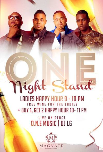 ONE Night Stand at Magnate Private Lounge Curacao