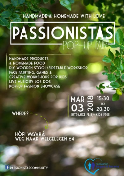 Passionistas Pop-Up Fair at Hofi Wayaka Curacao