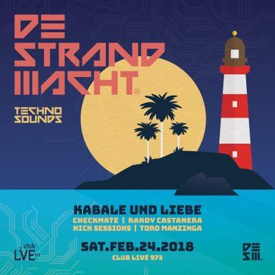 Strand Nacht at Club Live 973 Curacao