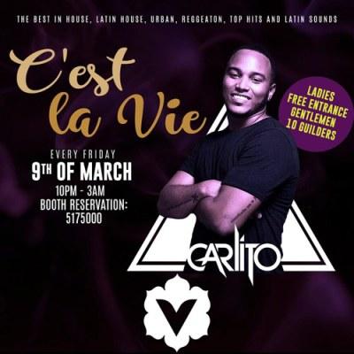 C est la vie with Carlito at Club Vanilla Curacao
