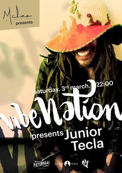 VibeNation ft Junior Tecla at Miles Jazz Cafe Curacao