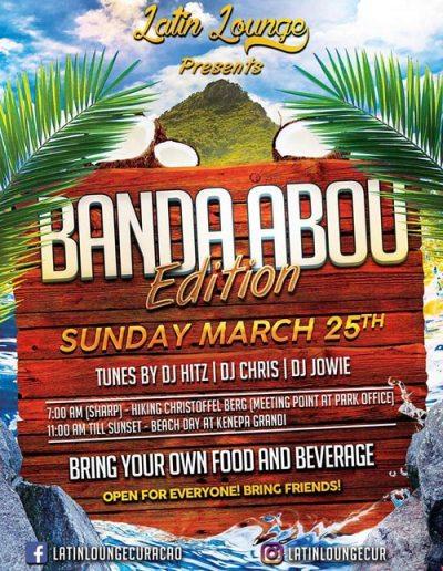 Latin Lounge Banda Abou Edition in Curacao