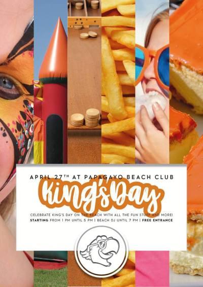 King Day at Papagayo Beach Club Curacao