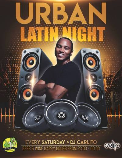Urban Latin Night at Mojitos and Bites Curacao