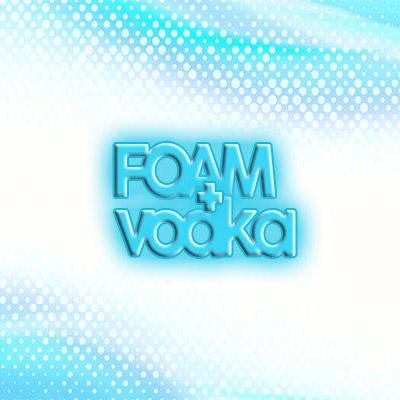 Foam and Vodka at Villa Royal Curacao