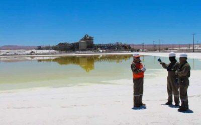 """SQM: """"En los proyectos de litio, aproximadamente US$ 400 millones están enfocados en Chile"""""""