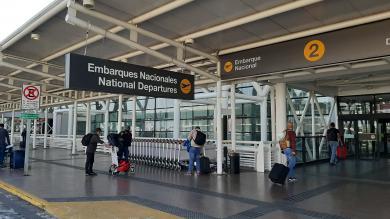 Informe aeronáutico muestra disminución de 70% en los pasajeros transportados durante enero