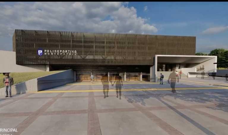 Financiarán construcción de polideportivo de Monte Patria por más de $3.000 millones
