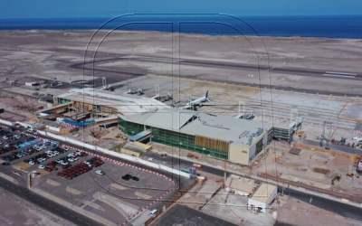 Se registra más de un 50% de avance en obras de aeropuerto Diego Aracena de Iquique