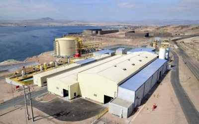 Minera Candelaria utiliza un 100% de agua de mar desalinizada para su proceso productivo