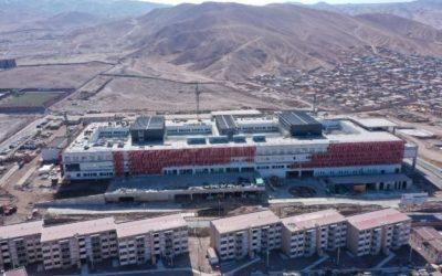 Hospital de Alto Hospicio supera el 86,5% de avance