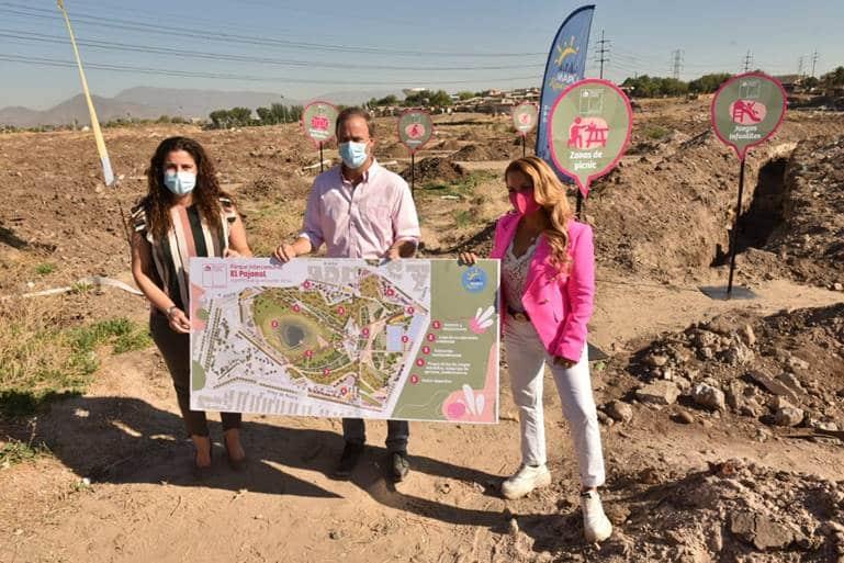 Ministro Ward y Alcaldesa Barriga presentan diseño del futuro Parque Intercomunal El Pajonal de Maipú