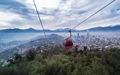 Serviu lanza licitación para construir un segundo teleférico en el Parque Metropolitano