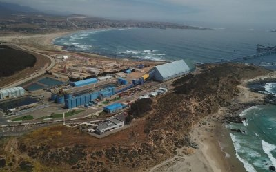 Proyecto para sumar infraestructura a Los Pelambres alcanza más de 40% de avance